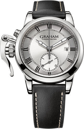 Graham Watch Chronofighter 1695 Erotic Silver Limited Edition