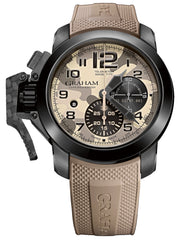 Graham Watch Chronofighter Oversize Black Arrow Farenheit Beige
