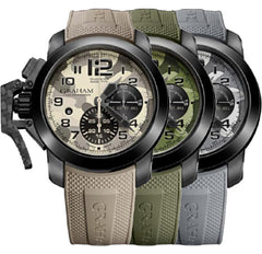 Graham Watch Chronofighter Oversize Black Arrow Set Of 3 Farenheit