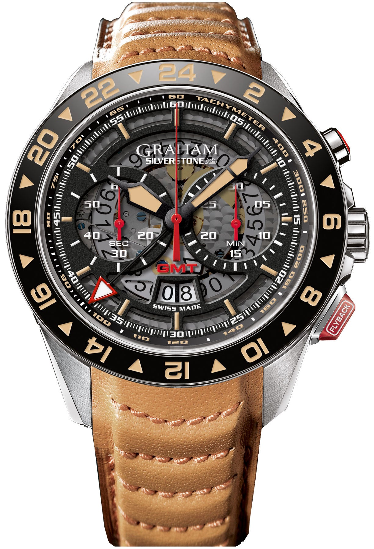 Limited Edition Birthday Collection: Graham Watch Silverstone GMT Limited Edition 2STDC.B08A
