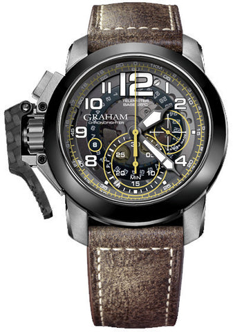 Graham Watch Chronofighter Oversize Ceramic Bezel