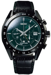 Grand Seiko Watch Spring Drive Sports Black Ceramic GMT Limited Edition