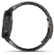 Garmin Watch Fenix 5 Plus Sapphire Carbon Grey Titanium Band D