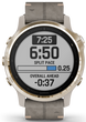 Garmin Watch Fenix 6S Sapphire Light Gold Shale Suede Band