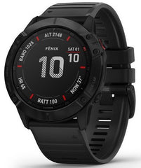 Garmin Watch Fenix 6X Pro Black