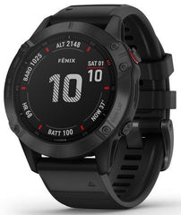 Garmin Watch Fenix 6 Pro Black