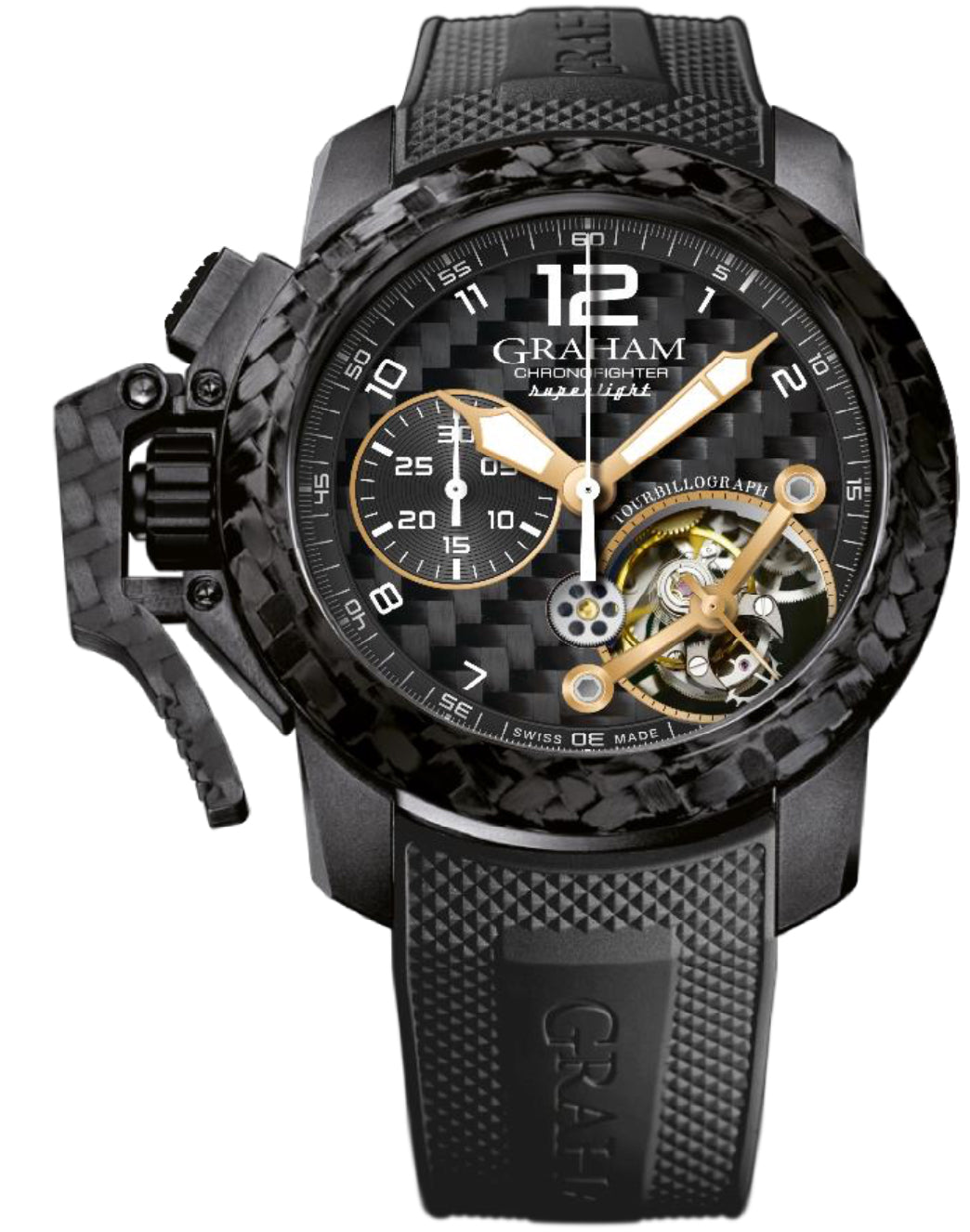 Graham Watch Chronofighter Superlight Carbon