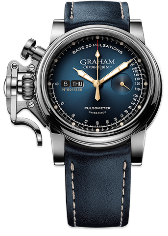Graham Watch Chronofighter Vintage Pulsometer Limited Edition