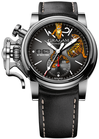 Graham Watch Chronofighter Vintage Tiger Limited Edition Pre-Order