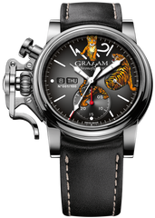 Graham Watch Chronofighter Vintage Tiger Limited Edition