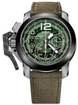 Graham Watch Chronofighter Target 2CCAC.G03A.T31S GREEN CANVAS