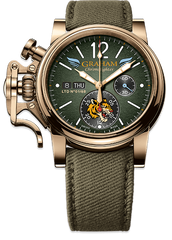 Graham Watch Chronofighter Vintage Bronze Flying Tigers Limited Edition