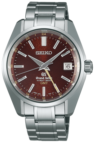 Grand Seiko Watch Mechanical Hi Beat 36000 GMT Limited Edition