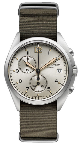 Hamilton Watch Khaki Aviation Pilot Pioneer Chrono