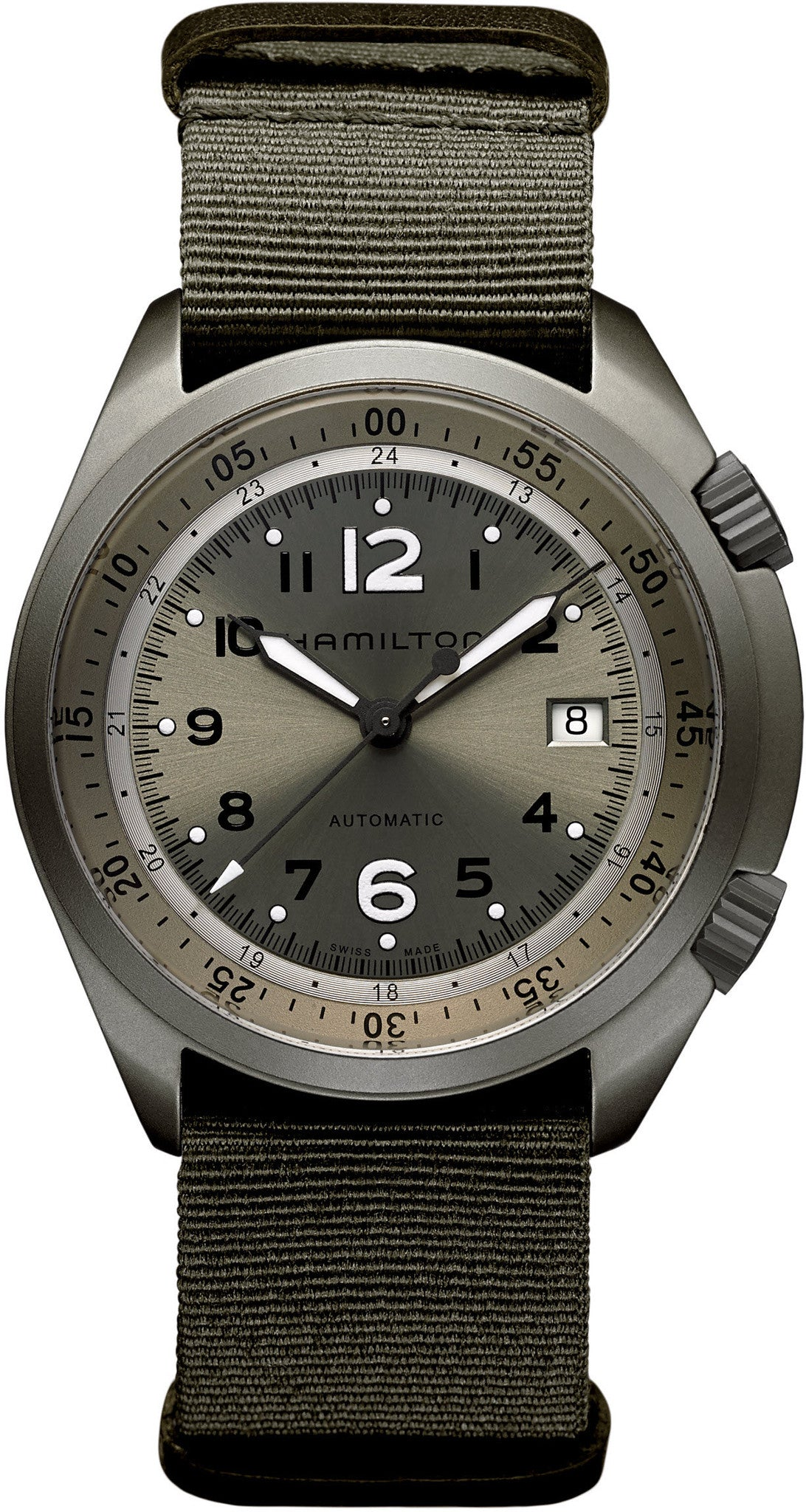 Hamilton Watch Khaki Aviation Pilot Pioneer Aluminum