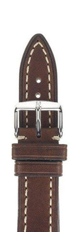 Hirsch Strap Liberty Brown Large 24mm