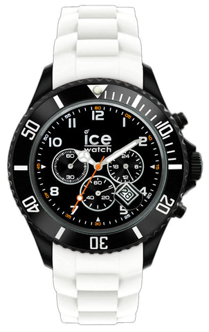 Ice Watch Chrono Black White Big D