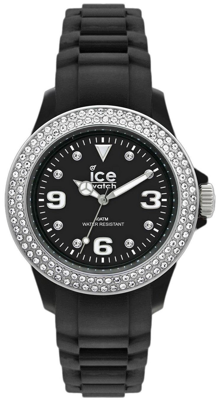 Ice Watch Stone Black Silver Small