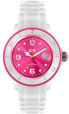 Ice Watch White Pink Dial D