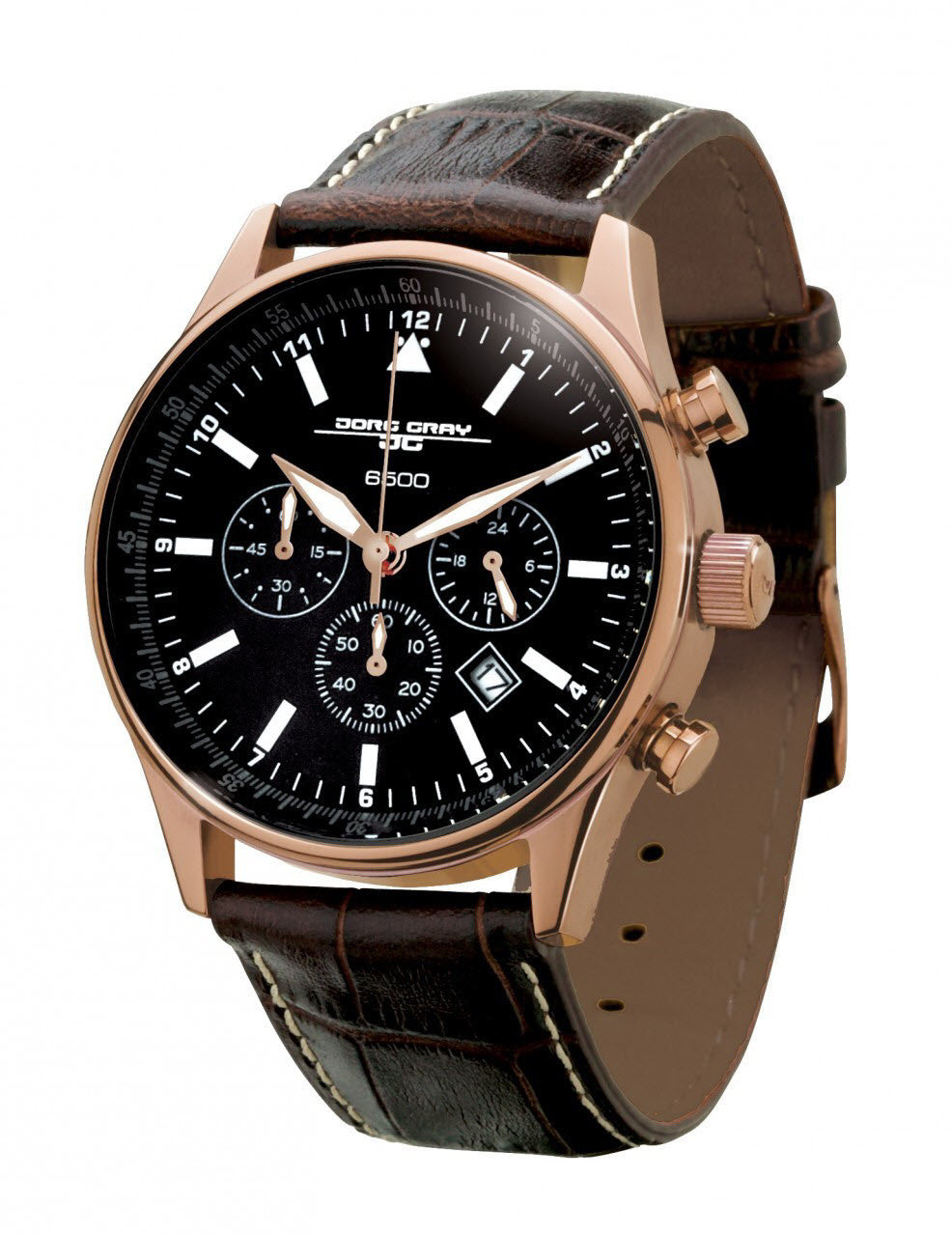 Jorg Gray Watch JG6500 Series Non Commemorative Edition Rose Gold