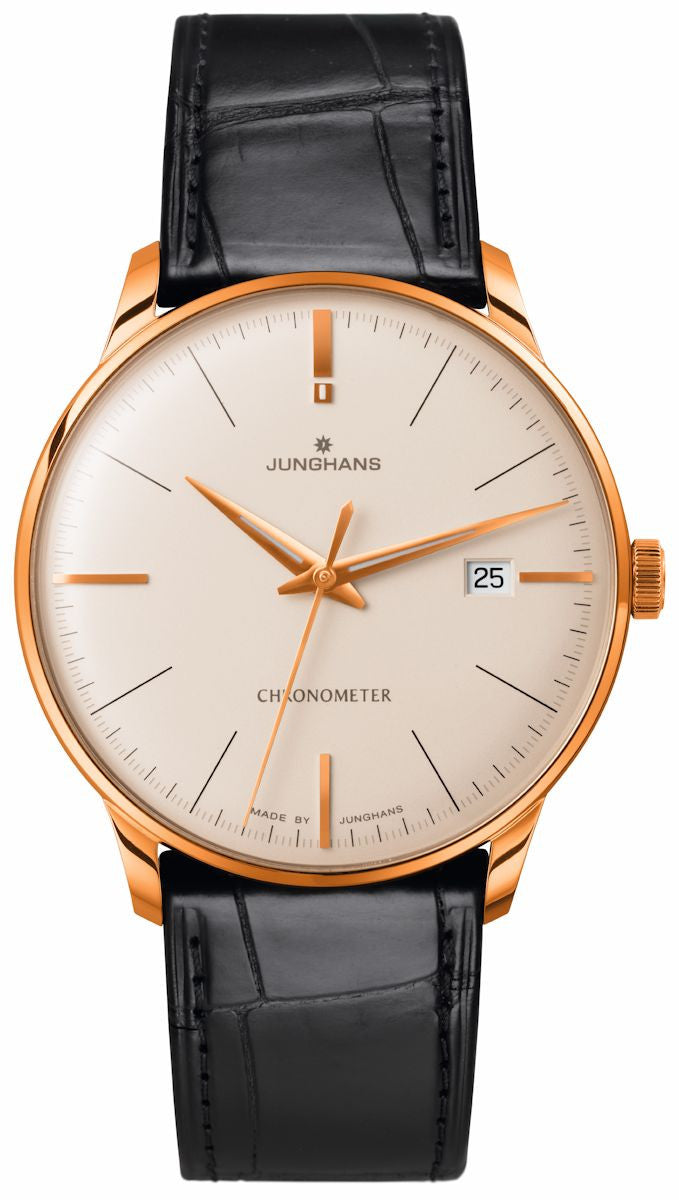 Junghans Watch Meister Chronometer Gold Limited Edition