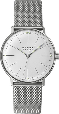 Junghans Watch Max Bill Hand Winding