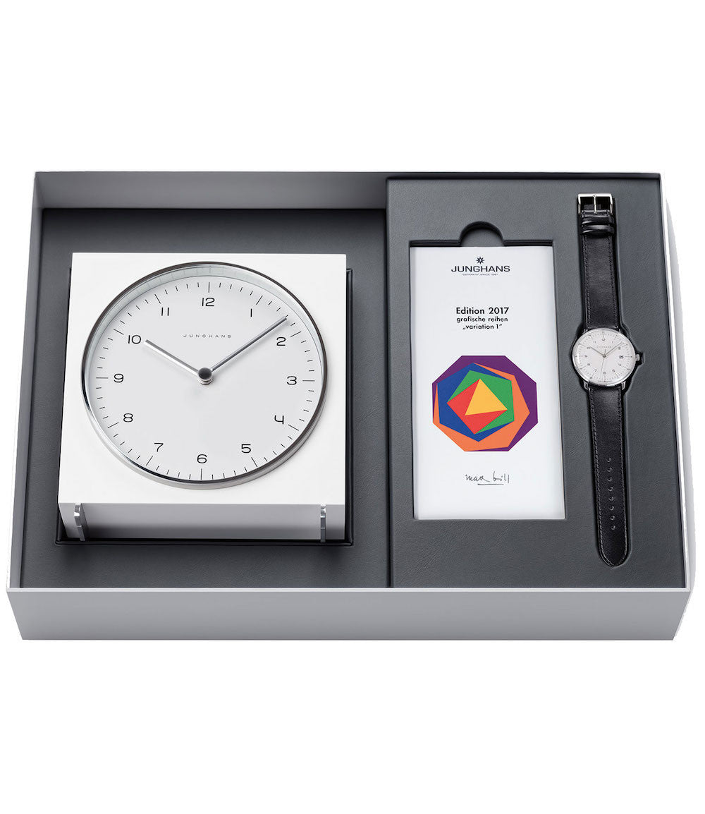 Junghans Watch Max Bill Clock Set Limited Edition PreOrder