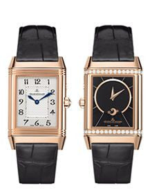Jaeger LeCoultre Watch Reverso Duetto Duo RG