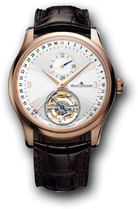 Jaeger LeCoultre Watch Master Tourbillon Dualtime