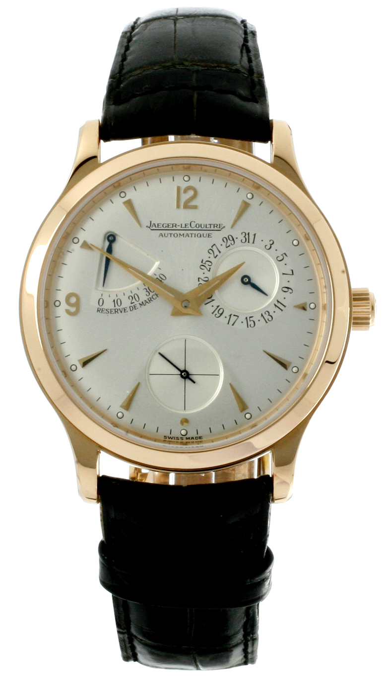 Jaeger LeCoultre Watch Master 18ct Rose Gold