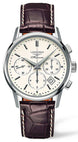 Longines Watch Column Wheel Chronograph Mens L2.749.4.72.2