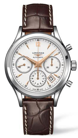 Longines Watch Column Wheel Chronograph Mens D