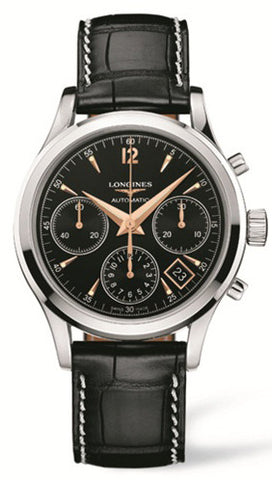 Longines Column Wheel Chronograph Mens
