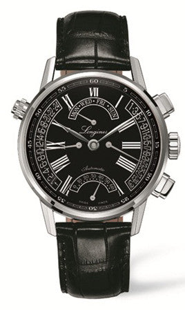 Longines Watch Heritage Retrograde Mens