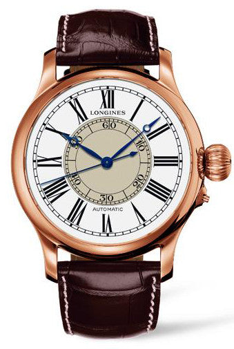 Longines Watch Weems Second Setting Mens