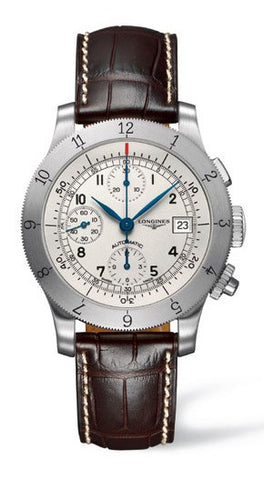 Longines Watch Weems Chronograph Mens