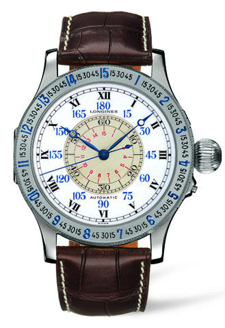 Longines Watch Lindbergh Hour Angle Mens
