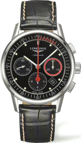 Longines Watch Column Wheel Chronograph Record Mens D