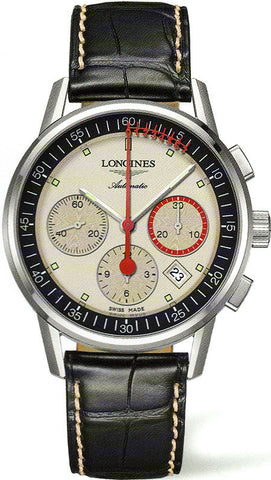 Longines Watch Column Wheel Chronograph Record Mens