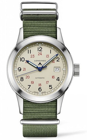 Longines Watch Heritage Military COSD D