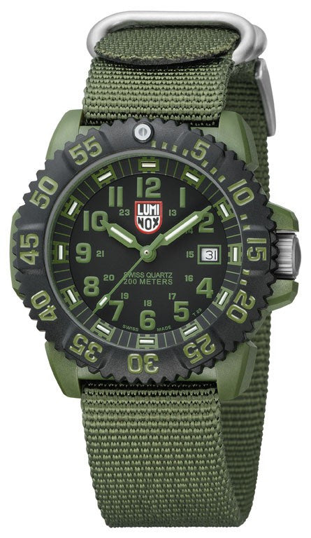 Luminox Watch Sea OD Military 44mm 3040 Series D