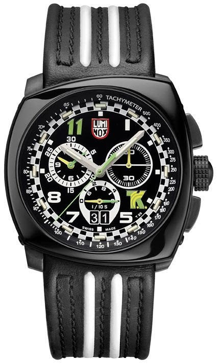 Luminox Watch Land Tony Kanaan Steel Chronograph 1140 Series Limited Edition