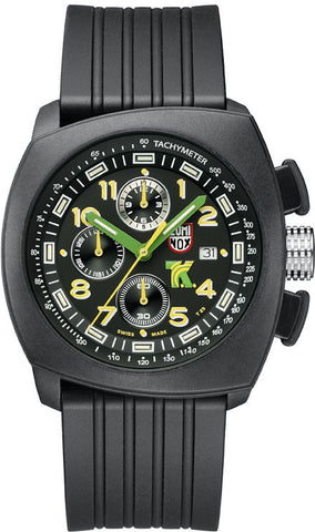 Luminox Watch Land Tony Kanaan PC Carbon Chronograph 1100 Series