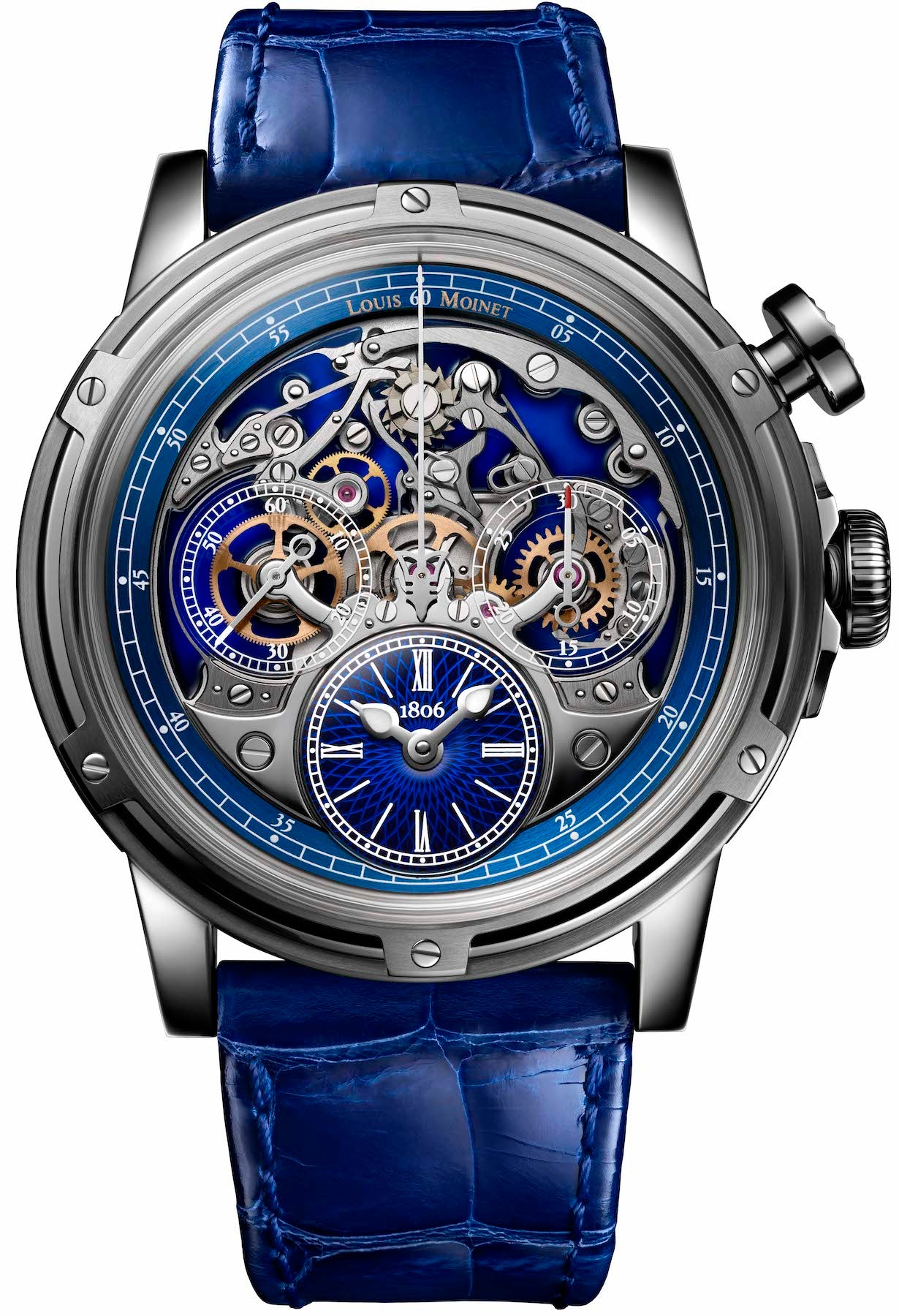 louis moinet watch memoris titanium