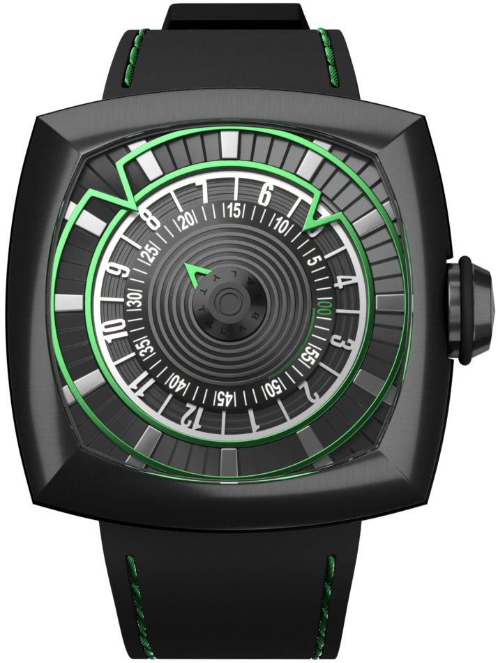 lytt labs watch green gunmetal