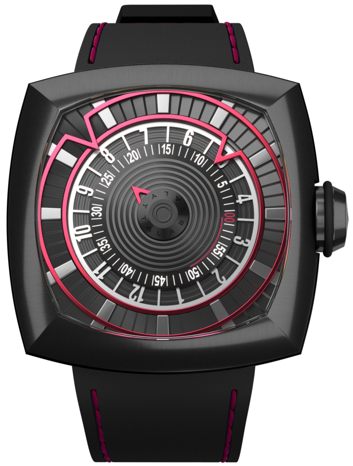 lytt labs watch red gunmetal