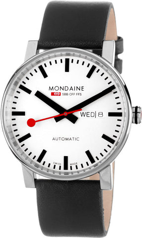 Mondaine Watch Evo Automatic Day Date