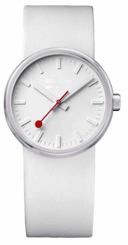 Mondaine Watch Bold White D