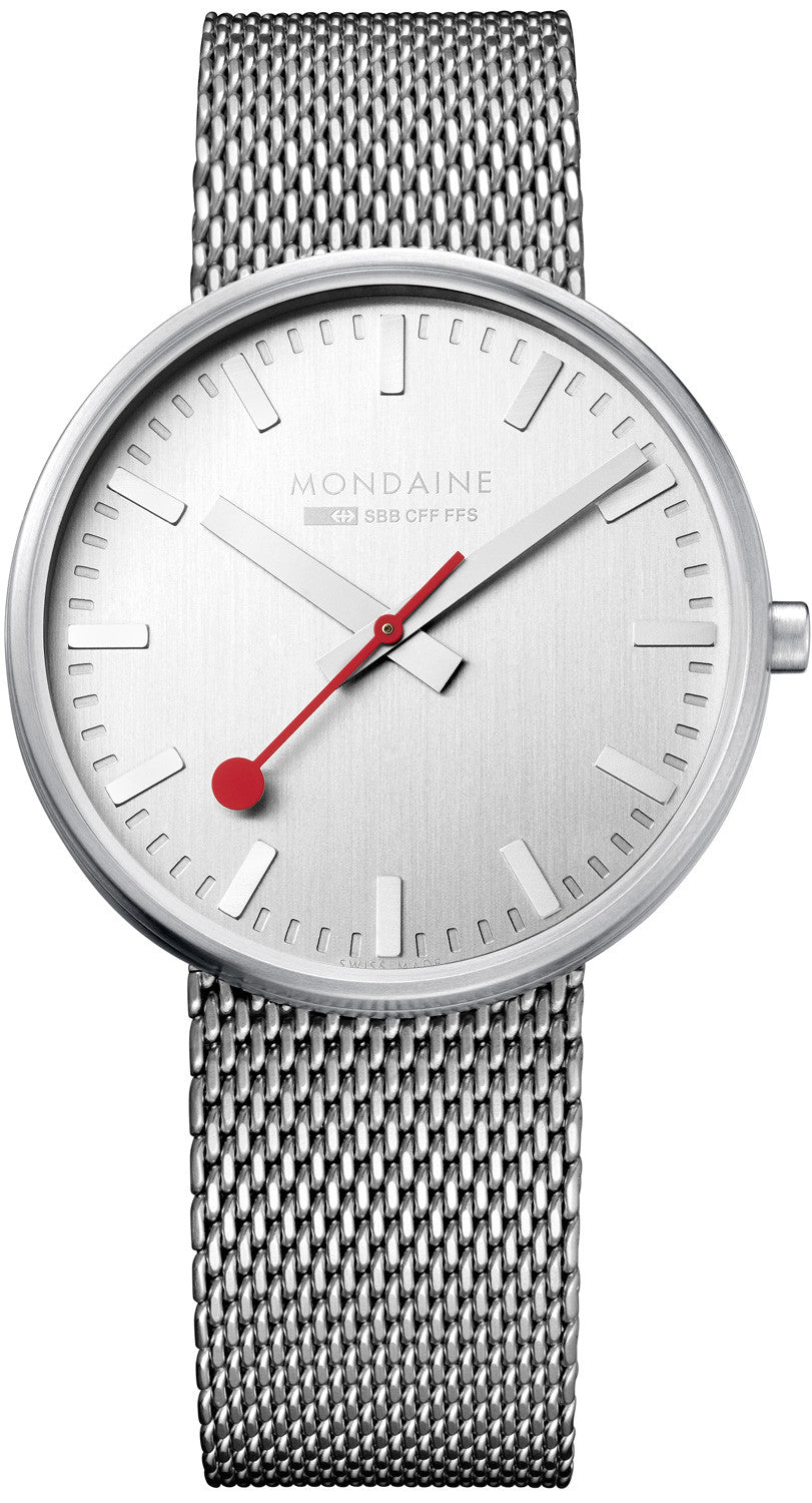 Mondaine Watch Giant Silver Limited Edition D A660.30328.16SBM Watch 50a2c00af6