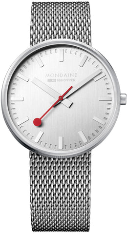 Mondaine Watch Giant Silver Limited Edition D